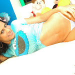 Selena Spice Camiseta Azul, Cachetero Azul, Elmo Comegalletas Foto 83