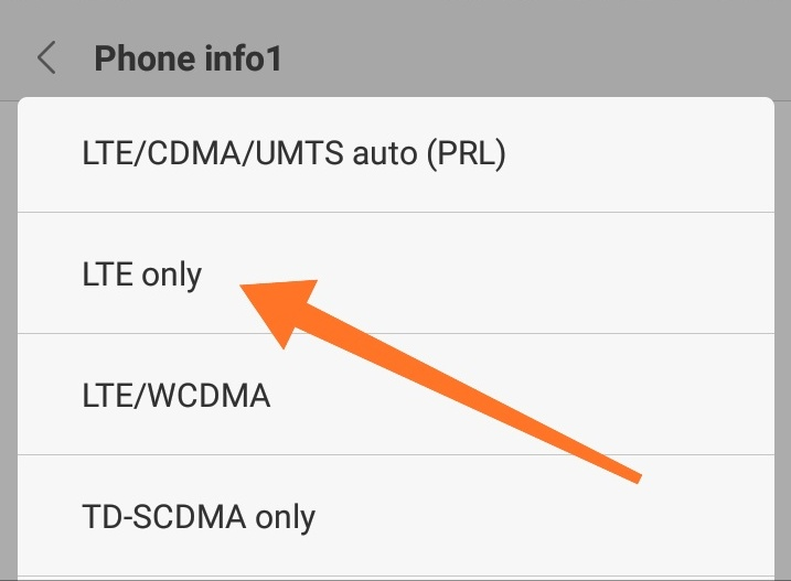 Cara Mengunci Sinyal 4G LTE di Android