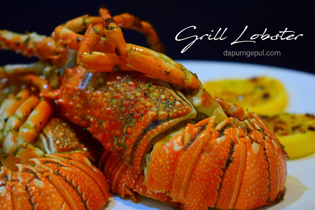 Grilled Lobster atau Udang Panggang by dapurngepul.com