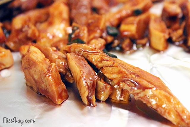 «Ailes» de poulet à la coréenne (sans os) #CuisinezavecJanes
