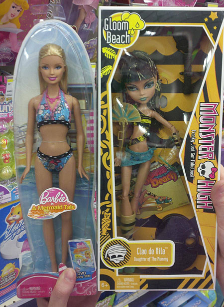 you know its bad when new toys are making barbie look fat