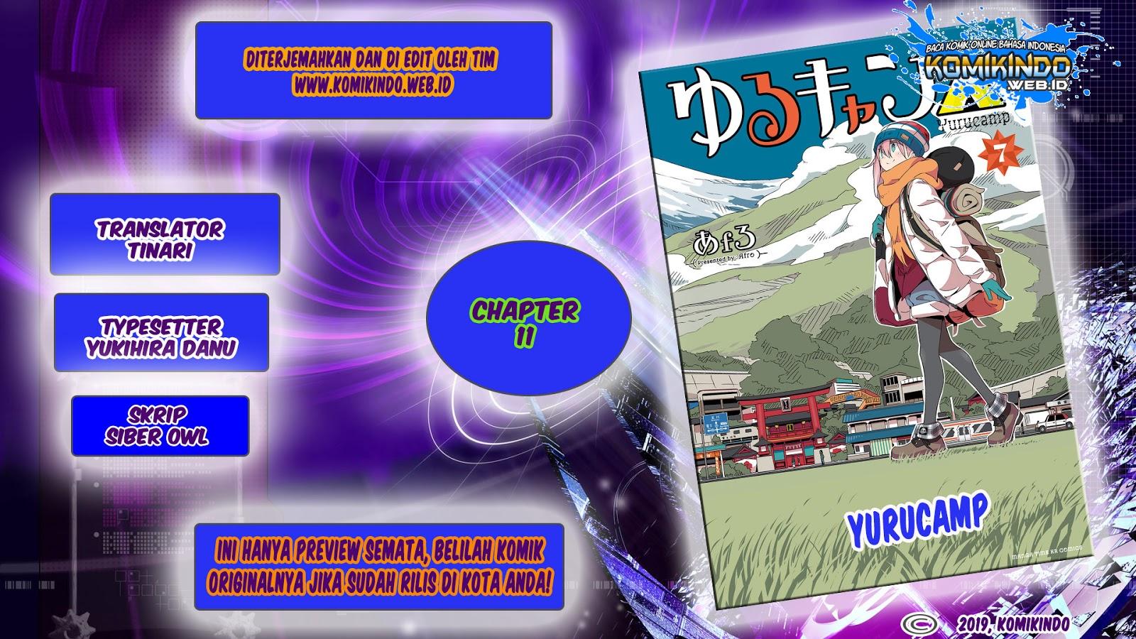 Dilarang COPAS - situs resmi www.mangacanblog.com - Komik yuru camp 011 - chapter 11 12 Indonesia yuru camp 011 - chapter 11 Terbaru 1|Baca Manga Komik Indonesia|Mangacan