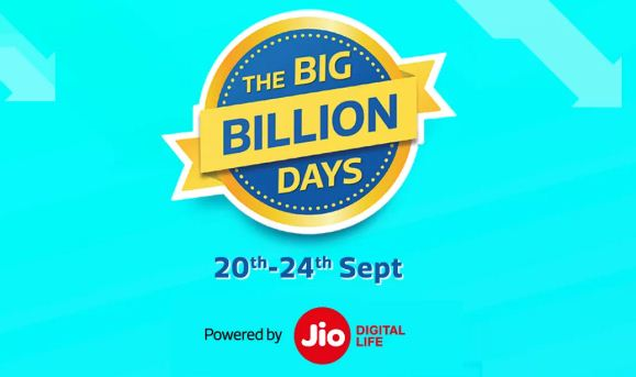 Big Billion Days Sale on Flipkart