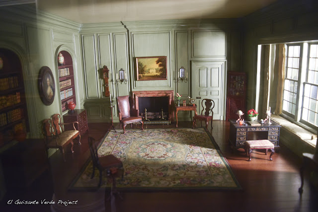 Thorne Miniature Rooms - Art Institute Chicago, por El Guisante Verde Project