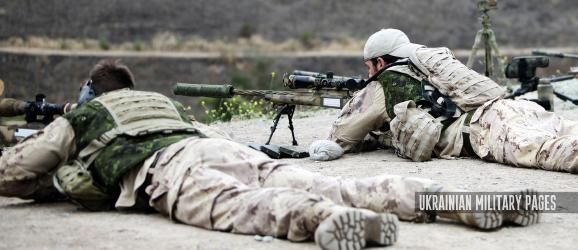 Канадські снайпери ведуть вогонь з гвинтівки McMillan TAC-50. Навчання DAWN BLITZ 2013