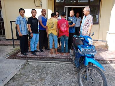 Polsek Pekalongan Ungkap Pencuri Motor di Masjid Baiturohim