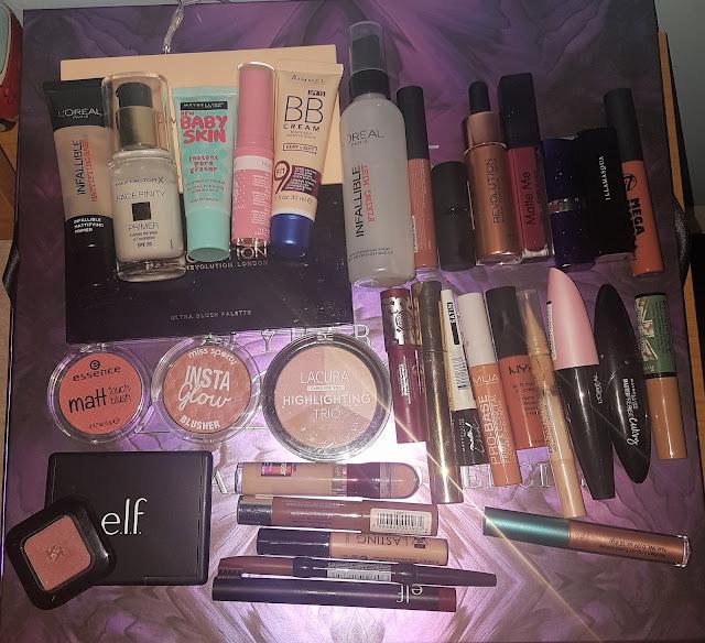 De-Cluttering My Makeup