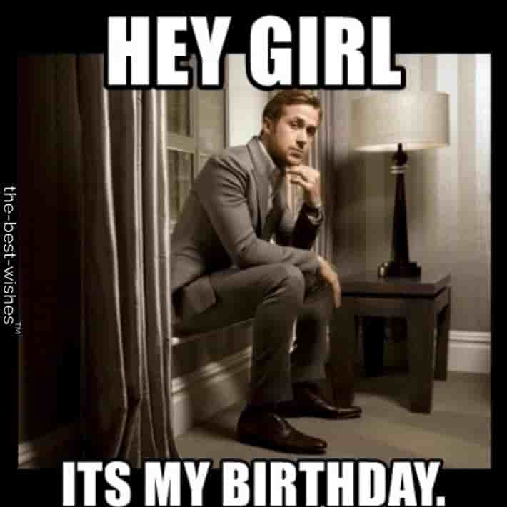 ryan gosling birthday memes for girl