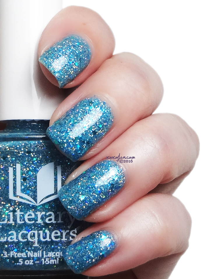 xoxoJen's swatch of Literary Lacquers Tia Wanna