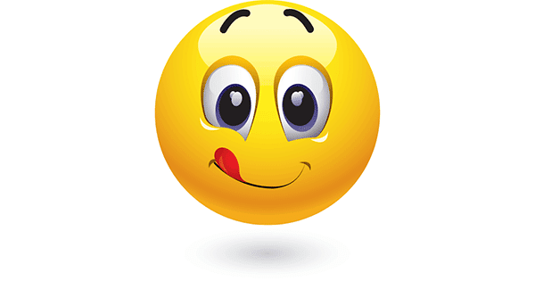 Well smiley emoticon lick free apologise that, can