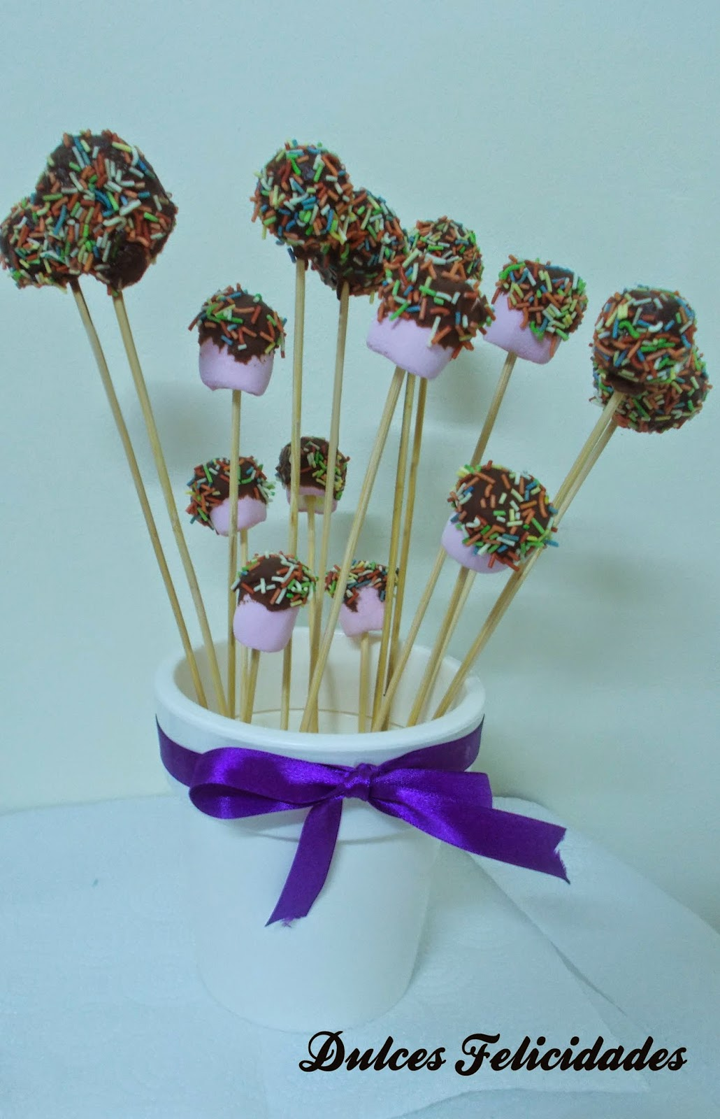 Cake pops de bizcocho y cheese cream