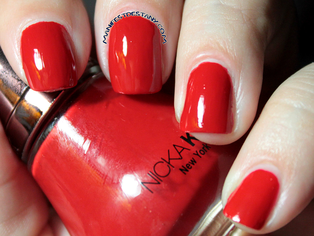 The one with Nicka K New York Color Holiday Nail Collection ...
