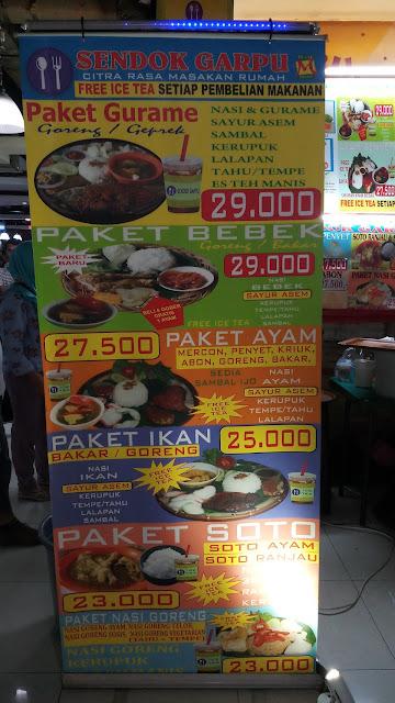 harga menu sendok garpu blok m square