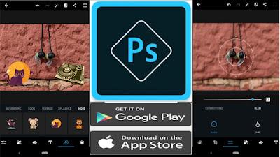 تحميل تطبيقPhotoshop Express من أدوبي يحصل على دعم الملصقات وتأثيرات جديدة الأندرويد و الأيفون