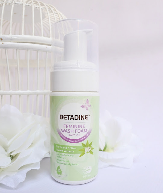 Review BETADINE Feminine Wash Foam