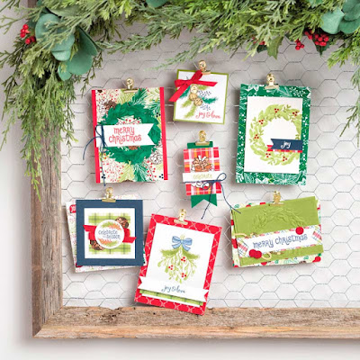 Craftyduckydoodah!, Mistletoe Season, Stamp 'N Hop November 2018, Stampin' Up! UK Independent  Demonstrator Susan Simpson, Supplies available 24/7 from my online store,