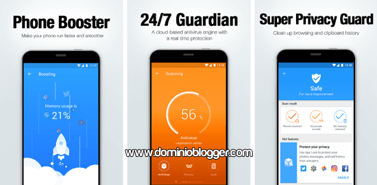 App Virus Cleaner para Android