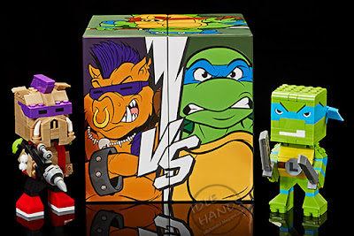 San Diego Comic-Con 2016 Mattel Exclusive KUBROS TEENAGE MUTANT NINJA TURTLES – LEONARDO VS. BEBOP SPECIAL EDITION SET