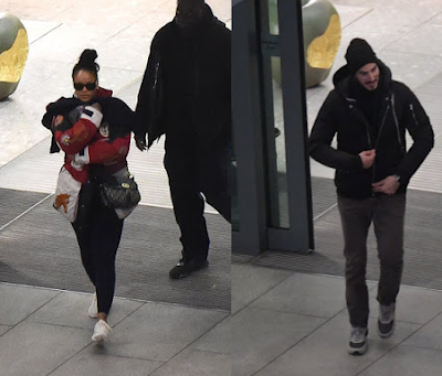 Rihanna arrives London with billionaire beau, Hassan Jameel amid engagement rumours