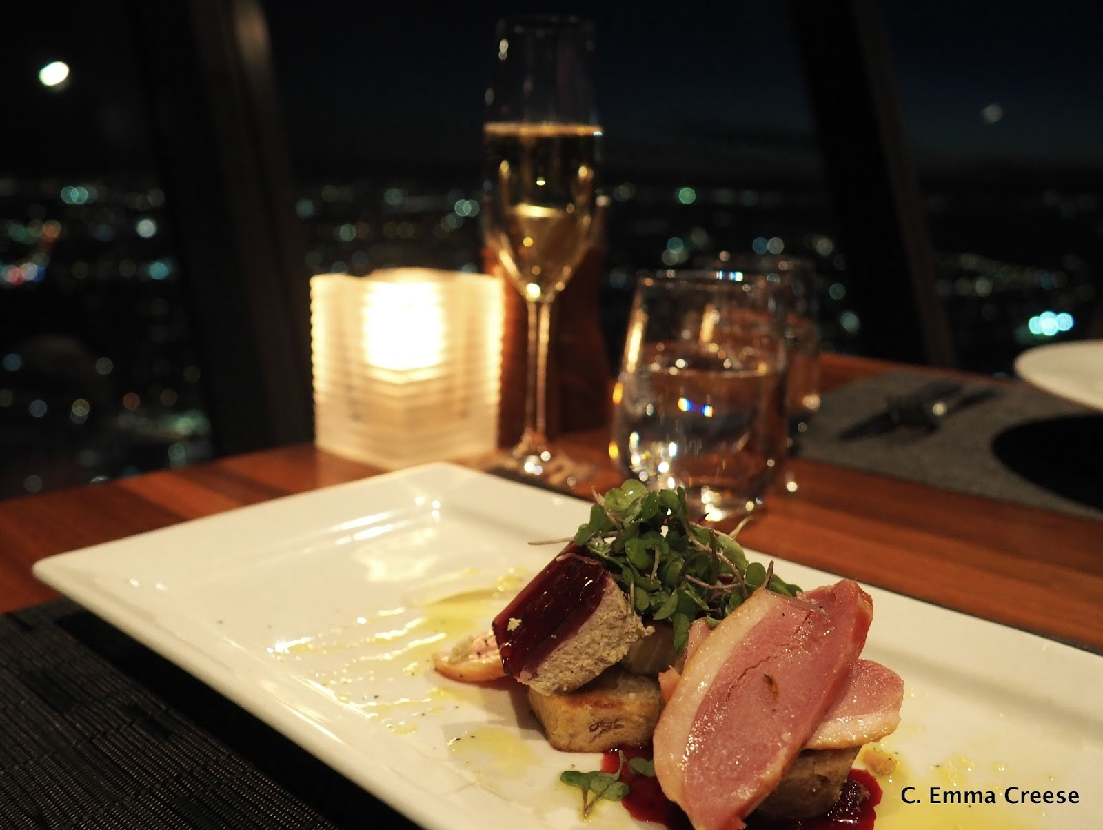Orbit 360 176 Dining Restaurant Review Skycity Auckland