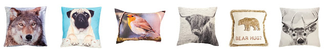 Animal Design Cushion Covers