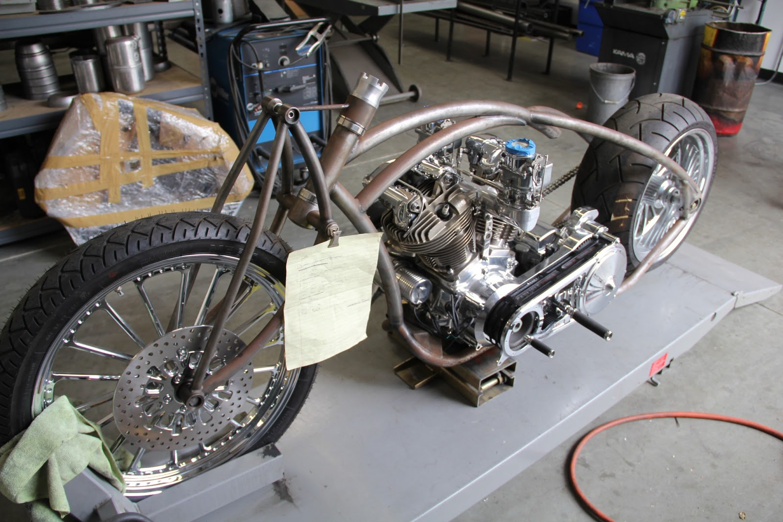 Iron Horse Motorcycles >> Chassis Design Company: Latest build