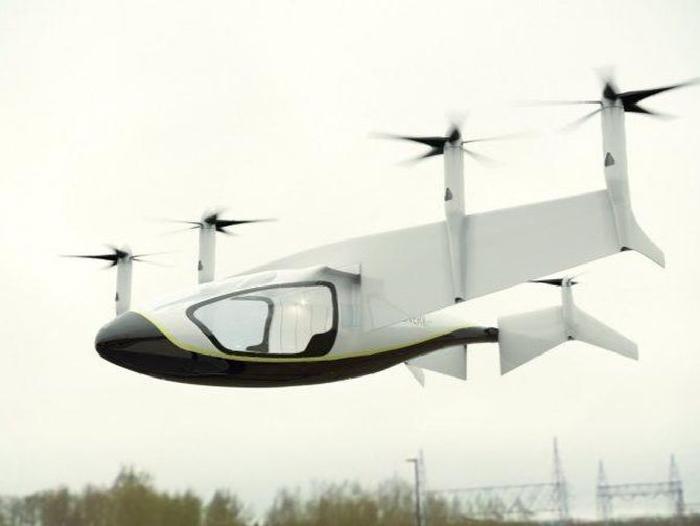 Rolls-Royce trabaja en el taxi volador del futuro