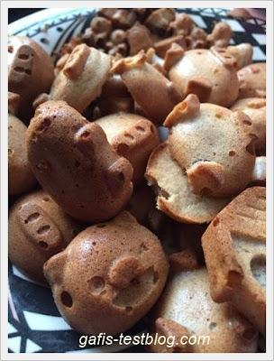 Bananen- Buchweizen Hundekese