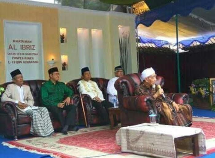 Khataman Kitab Al-Ibriz, KH. Maimoen Zubair: Kyai Mustofa itu Tidak Pernah Bakhil untuk Ulama