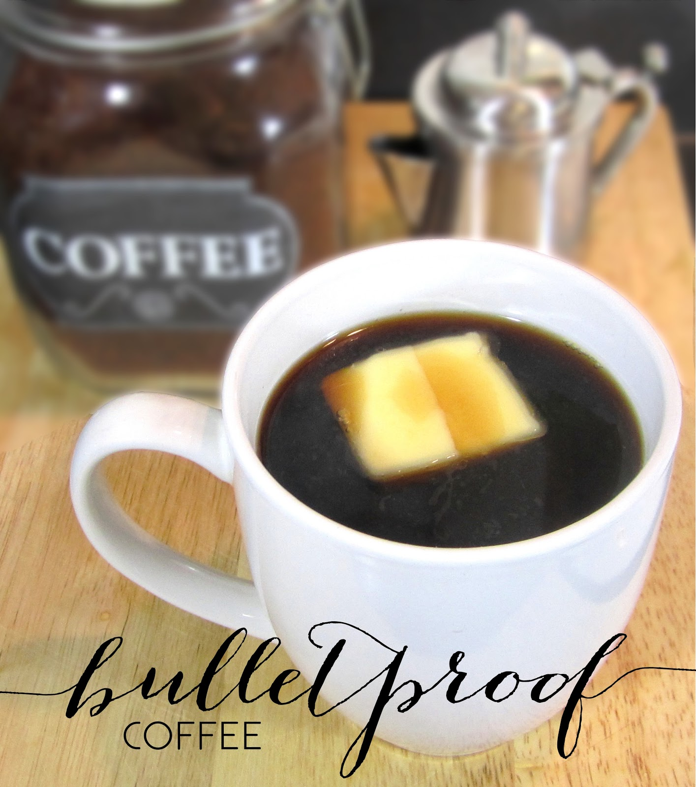 natural organic sugar free healthy fats coffee butter bulletproof bullet proof