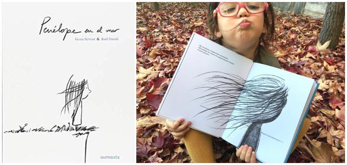 cuento álbum ilustrado recomendado +8 edad Penélope en el mar
