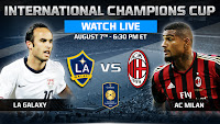 Hasil dan Video LA Galaxy VS AC Milan International Champions Cup 2013