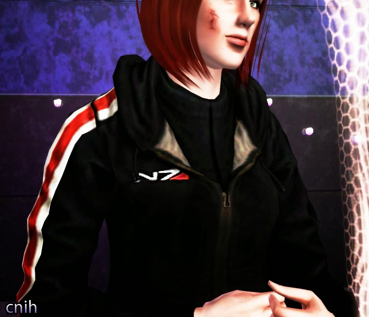 My Sims 3 Blog N7 Hoodie From Mass Effect 3 By Thecnih