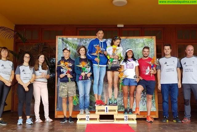 Joel De Paz y Aurelia Pérez, ganadores de la maratón en la X Puntallana Cabra Trail