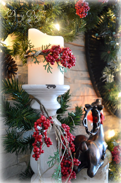 Dining Delight Christmas Fireplace Amp Hearth
