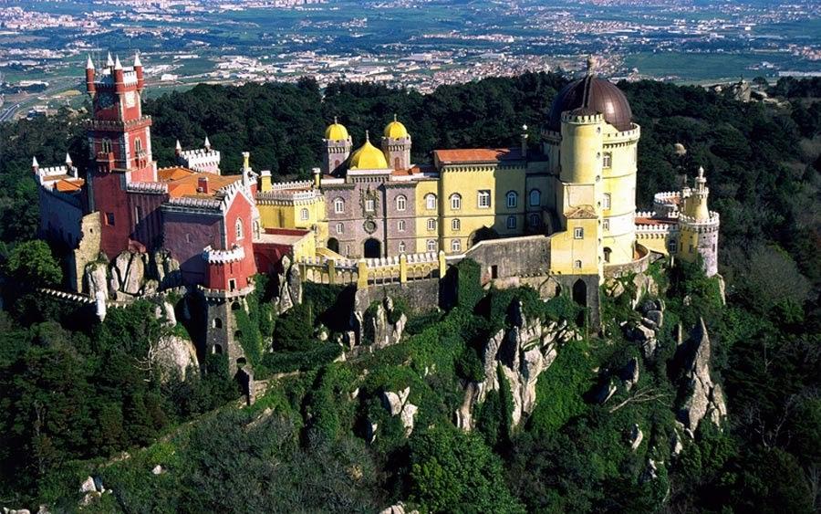 Palacio da Pena en Sintra, Portugal