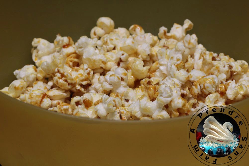Pop-corn caramélisé de Christophe Adam