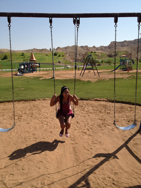 The Green Mubazzarah swing