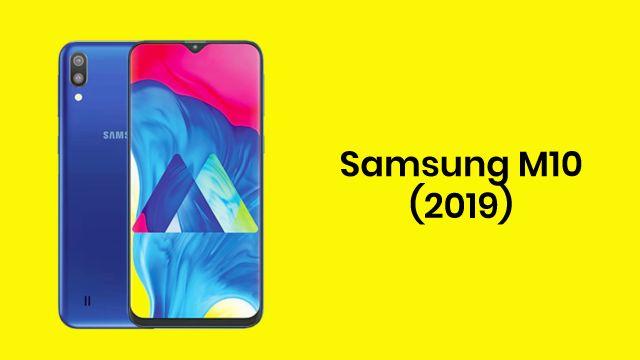 Smartphone Samsung Galaxy M10 2019