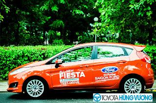 So sánh Toyota Vios với Ford Fiesta 7