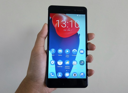 Nokia 6's Front