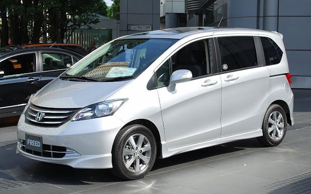 Desain Interior Honda Freed