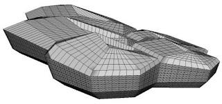 desain gedung KAPSARC yang di cover panel GRC facade