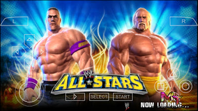 WWE All Stars PPSSPP ISO for Android (APK + OBB)