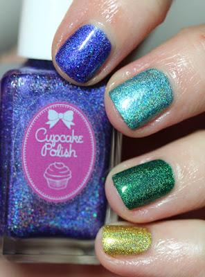 Cupcake Polish Rainbow