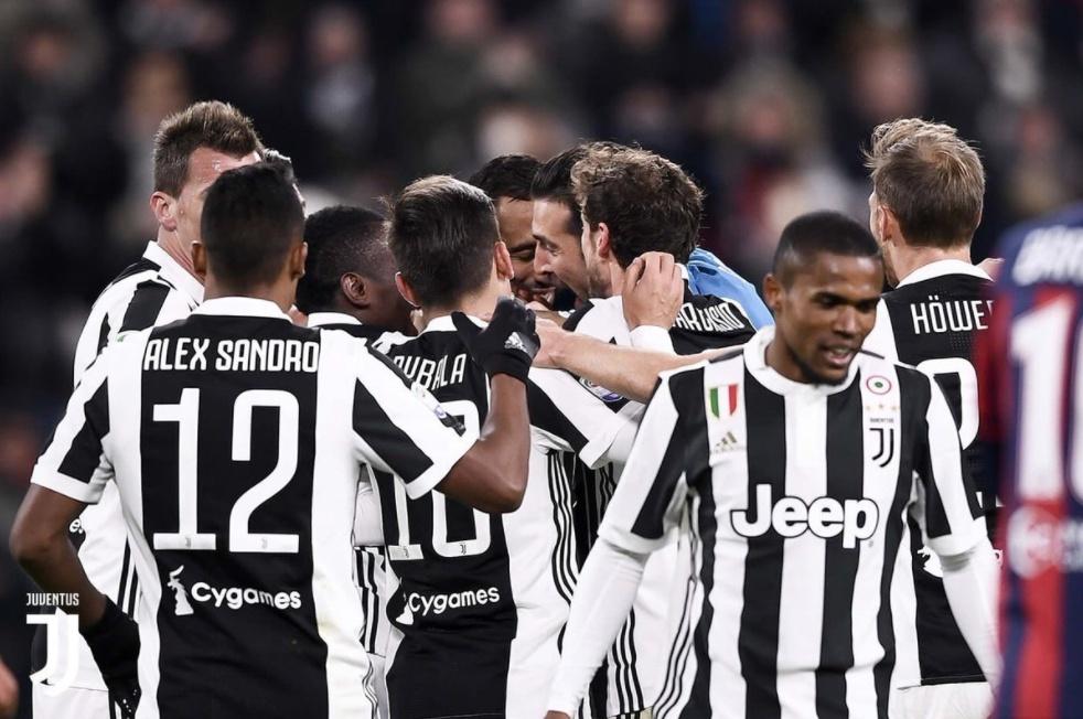 Posticipo Serie A, Juventus-Crotone 3-0 con Mandzukic De Sciglio e Benatia