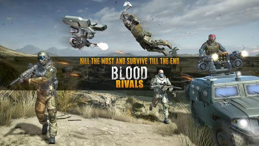 تحميل لعبة Blood Rivals: Survival Battleground مهكرة للاندرويد اخر اصدار