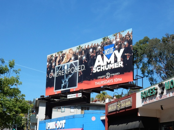 Amy Schumer Overexposed season 4 billboard