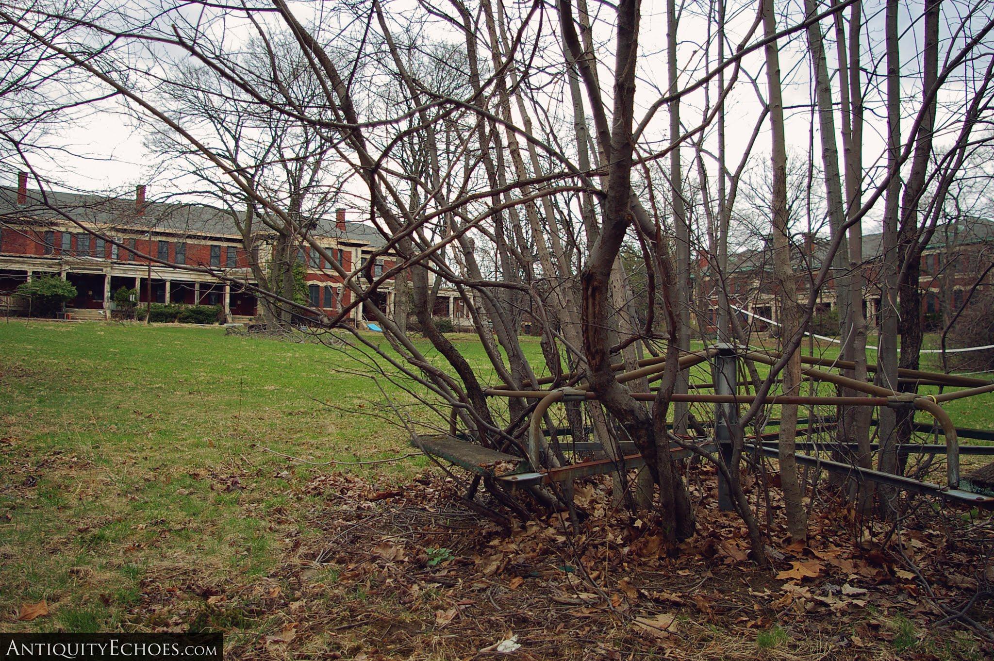 Overbrook Asylum - Overgrown Playground