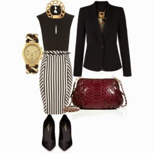Outfit stripes